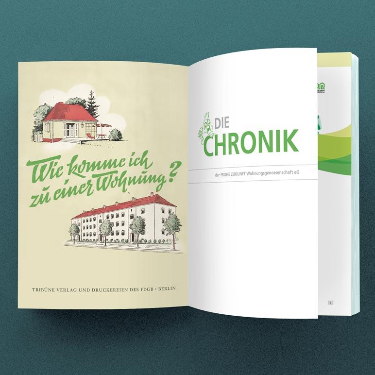 Willkommen auf meinem Blog   Die Chronik der FROHE ZUKUNFT Wohnungsgenossenschaft eG