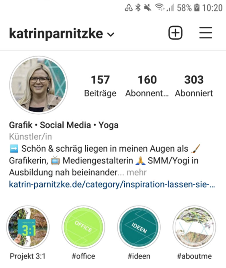 Social Media Kanal: Instagram
