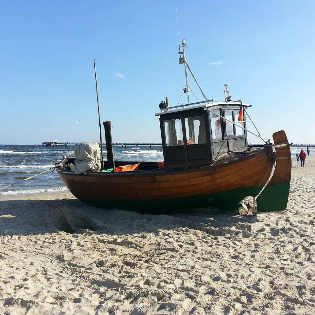 Ausgangsfoto Fischerboot