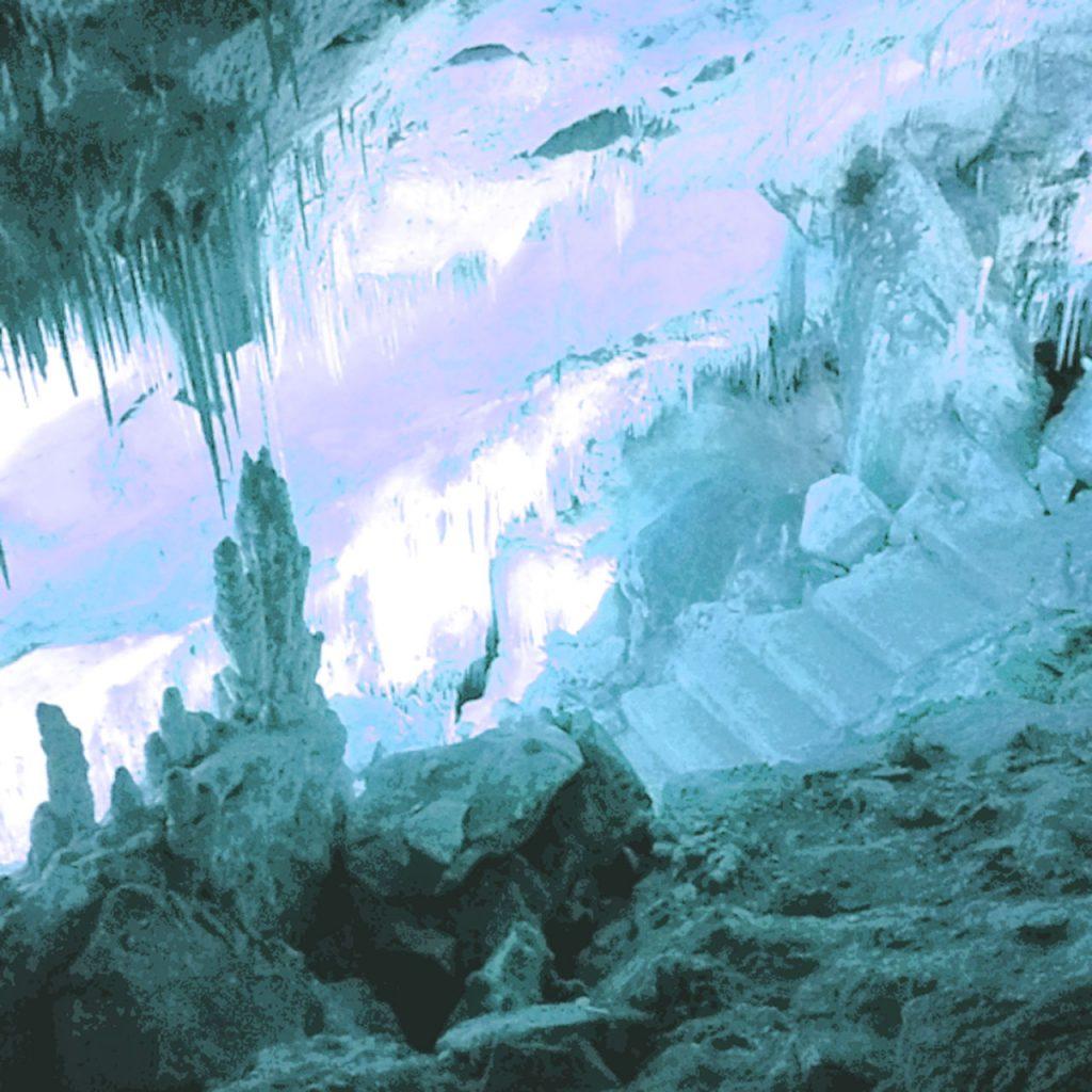 Ausgangsfoto Tropfsteinhöhle