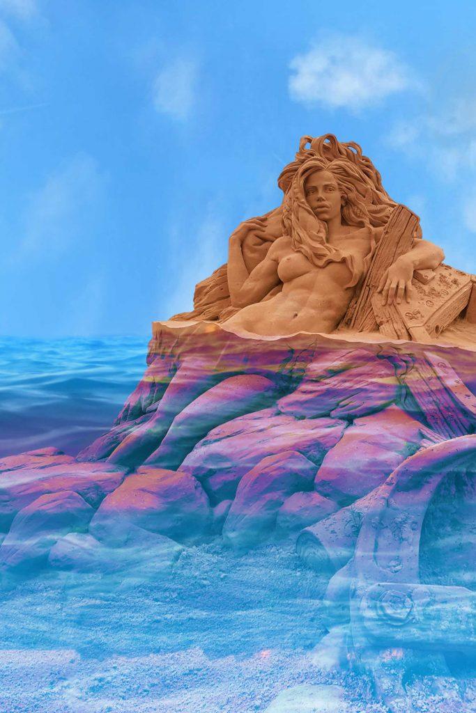 Tutorial 04 | Fantasievolle Bildbearbeitung:Die Wassernixe im Ozean