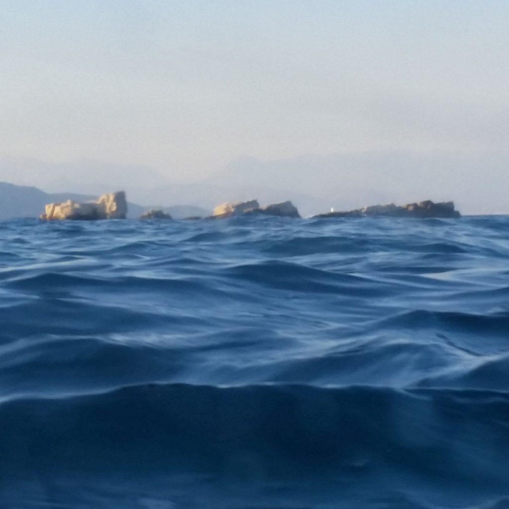 Ausgangsfoto Ozean